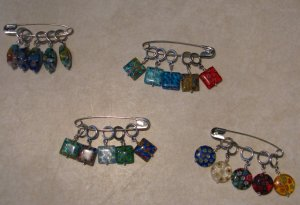 Sets of Stitch Markers I completed